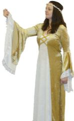 Medieval Maiden Costume Plus Size